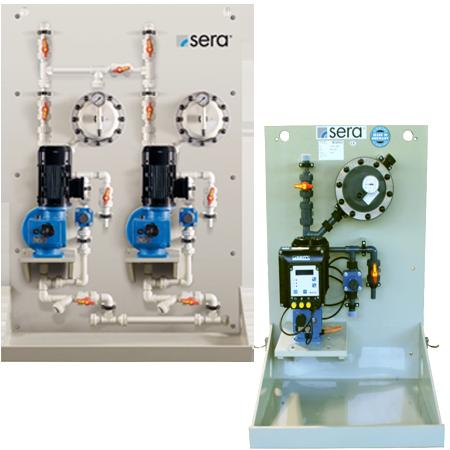 Rona Dosificación y Bombeo imagen sección equipos de preparación de polielectrolitos en continuo